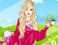 barbie tea dress games
