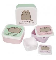 pusheen earrings set of four pusheen snack boxes