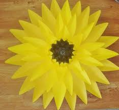 Sunflower Decorations Giant Paper Sunflower Sunflower Decor Baby Nursery