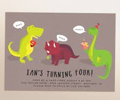 dinosaur birthday party printable invitation evite