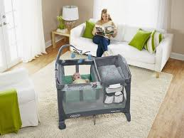 Graco Pack And Play With Changing Table Graco Pack N Play With Change N Carry Manor Walmart