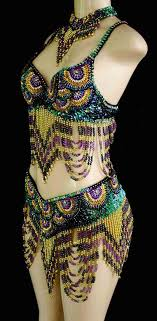 mardi gras bra a completely beaded two for mardi gras