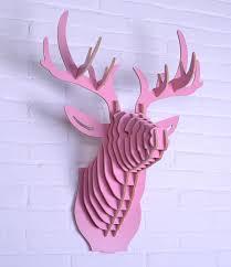 Christmas Moose Home Decor Aliexpress Com Buy Dhl Free Shipping Wooden Moose Head Wall