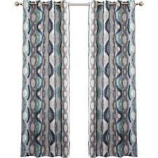 Lime Green Sheer Curtains Modern Geometric Curtains Drapes Allmodern
