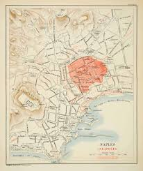 Naples Italy Map Maps Tagged