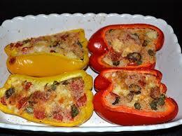poivrons farcis des pouilles cuisine italienne cuisine italienne