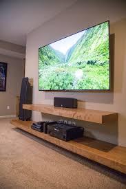 woodland home decor floating shelf floating shelves entertainment center built in cabinets