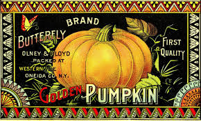 vintage halloween clip art pumpkin label the graphics fairy