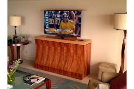 custom modern motorized tv lift cabinet