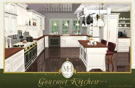 mod the sims manor house collection gourmet kitchen pt i