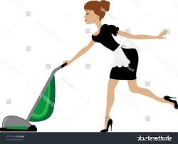 Vaccuming Unique Stock Photo Clip Art Of Maid Vacuuming File Free