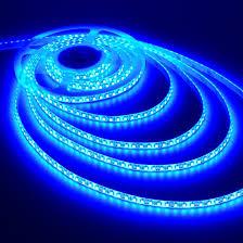 blue lights led string lighting bright room light