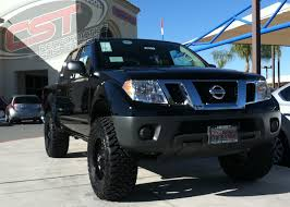lifted nissan car lift kit 2005 2017 frontier 2wd 4