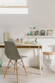 natural wood bedroom with a cool desk petit u0026 small