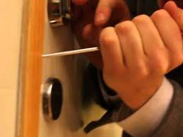 How To Add A Lock To A Desk Drawer Unlock Any Door With A Flathead Screwdriver Youtube