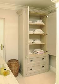 bathrooms design bathroom towel storage cabinet white linen