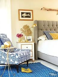 cobalt blue bedroom yellow and blue bedroom ideas parhouse club