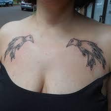 gethashtags photo by kim kress tattoo fun chest tattoo huginn