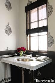 Glam Powder Room A Santa Barbara House Gets A Luxe Look Christina Rottman