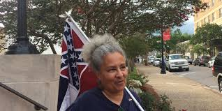 Black Guy With Confederate Flag Man Allegedly Sprayed With Pepper Spray At Flag Demonstration Near Usm