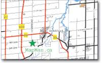 Maps For Business Cards Mapman Ca A Division Of Aggmapr Inc
