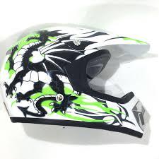 green motocross helmets xtrm kids mx13 offroad helmet green motocross motorbike acu dragon