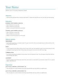 Restuarant Manager Resume Resume Template Job Fast Food Restaurant Manager Objectives For