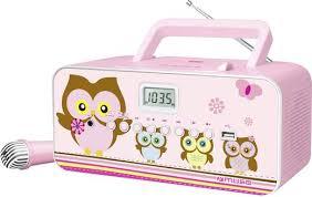 cd player für kinderzimmer cd player muse m 29 kp cd mw ukw usb inkl karaoke funktion