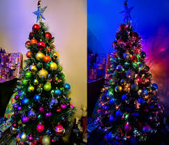 rainbow ombre christmas tree christmas tree topper decorations