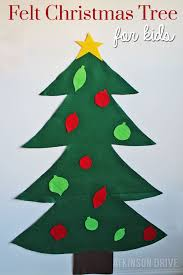 felt christmas tree for kids page 2 of 2 atkinson drive