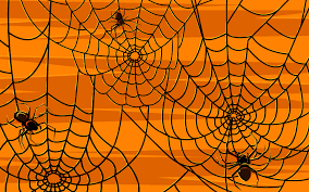 scarry halloween background spider web on halloween hd wallpaper 1443231