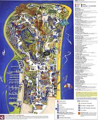 Cedar Fair Parks Map Theme Park Page Park Map Archive