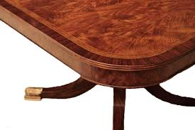 12 Seat Dining Room Table 12 Foot Mahogany Dining Table With Self Storing Leaves Seats 14