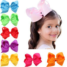 baby girl hair accessories 4 5 solid baby clip hair bows large set of 16 color