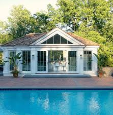 pool house designed by laura tutun also use as guest house