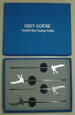 Grey Goose Gift Set Grey Goose Martini Olive Pick Spear Stick Gift Boxed Ebay