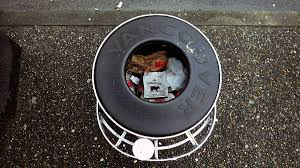 Trashing by Homeless In Vancouver Trashing A Bad Litter U2014both Bins And
