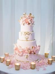 wedding cake gold best 25 gold petal wedding cakes ideas on pastel