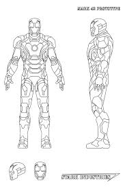 stunning iron man coloring pages mark pictures printable
