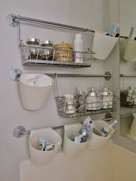 bathroom organization ikea bygel rail system ikea hacks