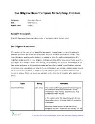 due diligence templates models and methods downloads eloquens
