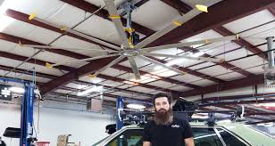 gas monkey garage uses large portable fans u0026 ceiling fans by big
