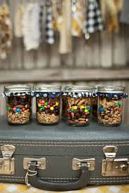 jar party favors backyard bonfire trail mix party favors a beautiful mess