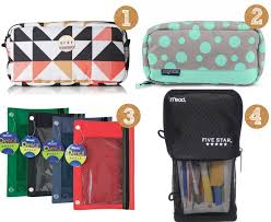 pencil bag back to school ideas for teenagers