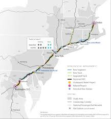 Metro North New Haven Line Map by Improving Rail Service Along The Northeast Corridor Regional