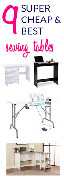 cheap sewing machine cabinets 9 super cheap sewing tables for small spaces below 100 sew some