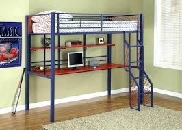 Bunk Bed Computer Desk Bunk Bed Desk Loft With Futon And Chair Tandemdesigns Co