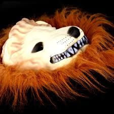 halloween great lion king mask of terror animal dress up