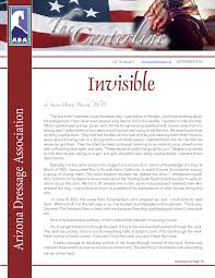 ada september 2016 centerline by arizona dressage association issuu