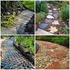 Diy Garden Ideas 27 Unique And Creative Diy Garden Path Ideas Iseeidoimake